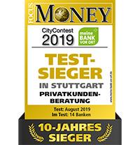 Testsieger Privatkundenberatung in Stuttgart