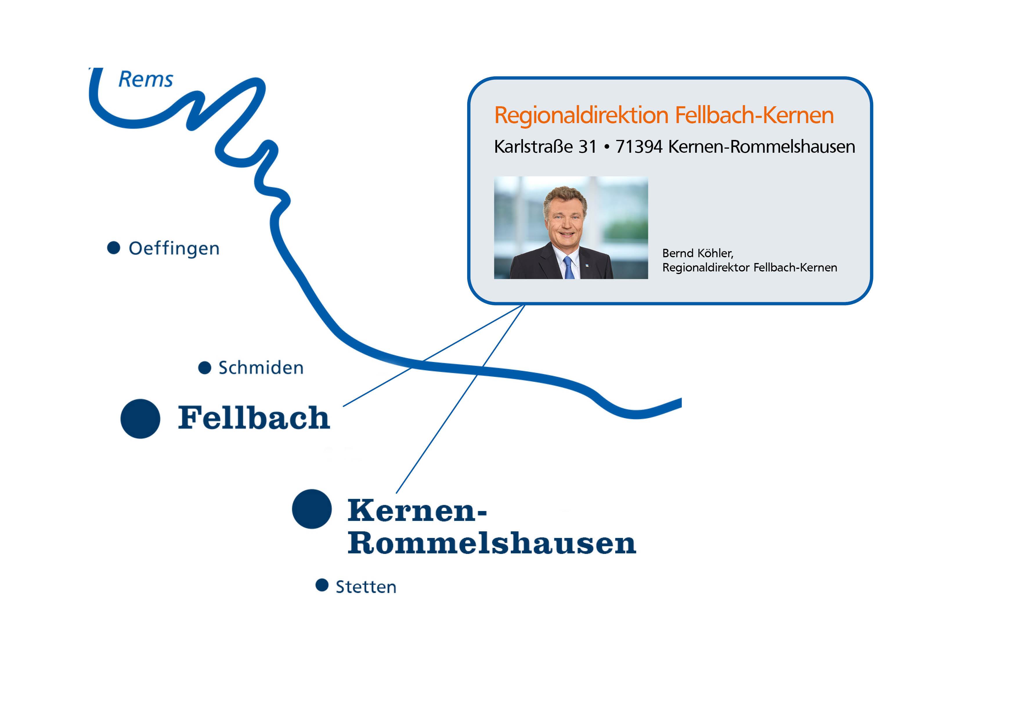 Regionaldirektion Fellbach-Kernen