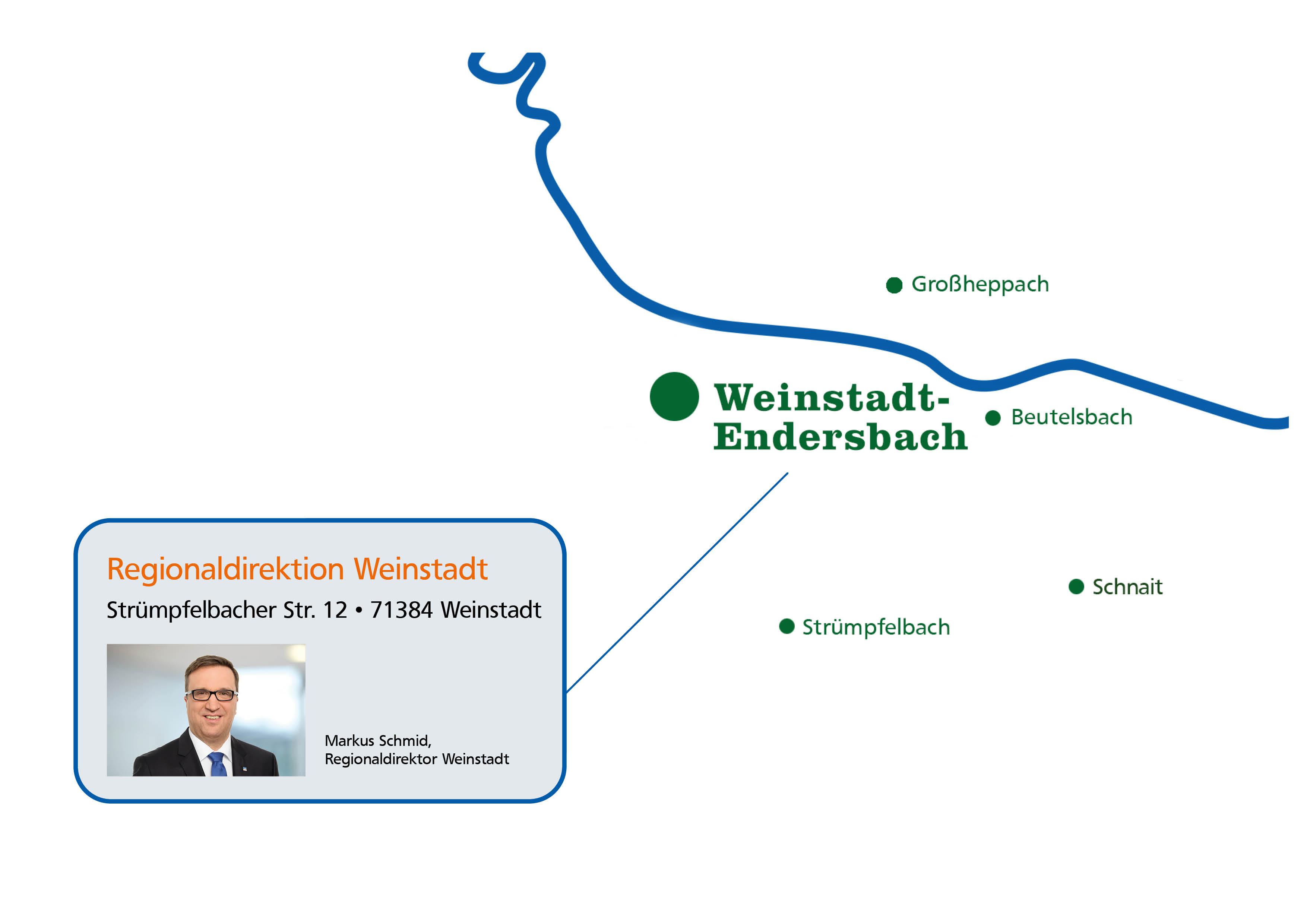 Regionaldirektion Weinstadt
