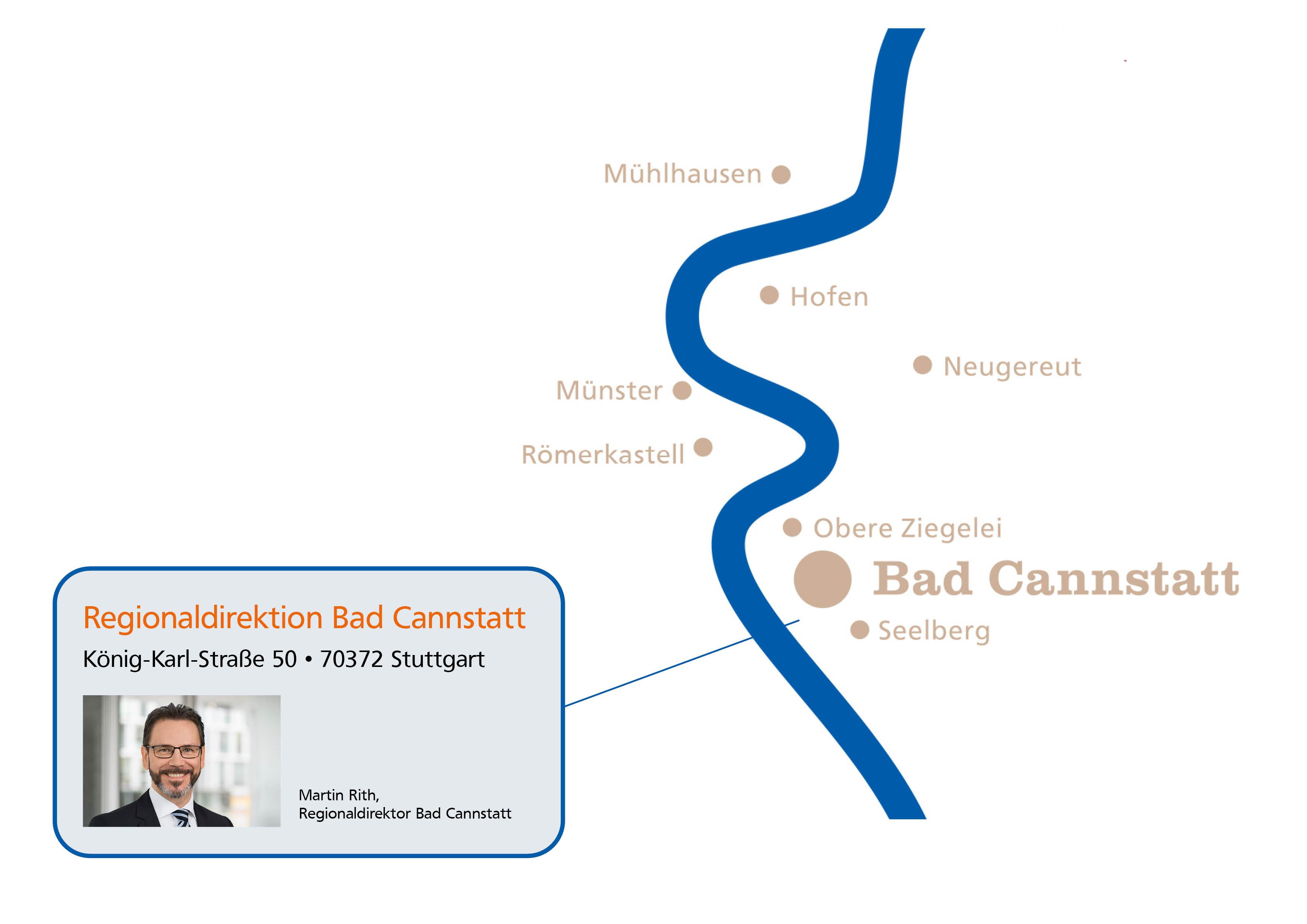 Regionaldirektion Bad Cannstatt