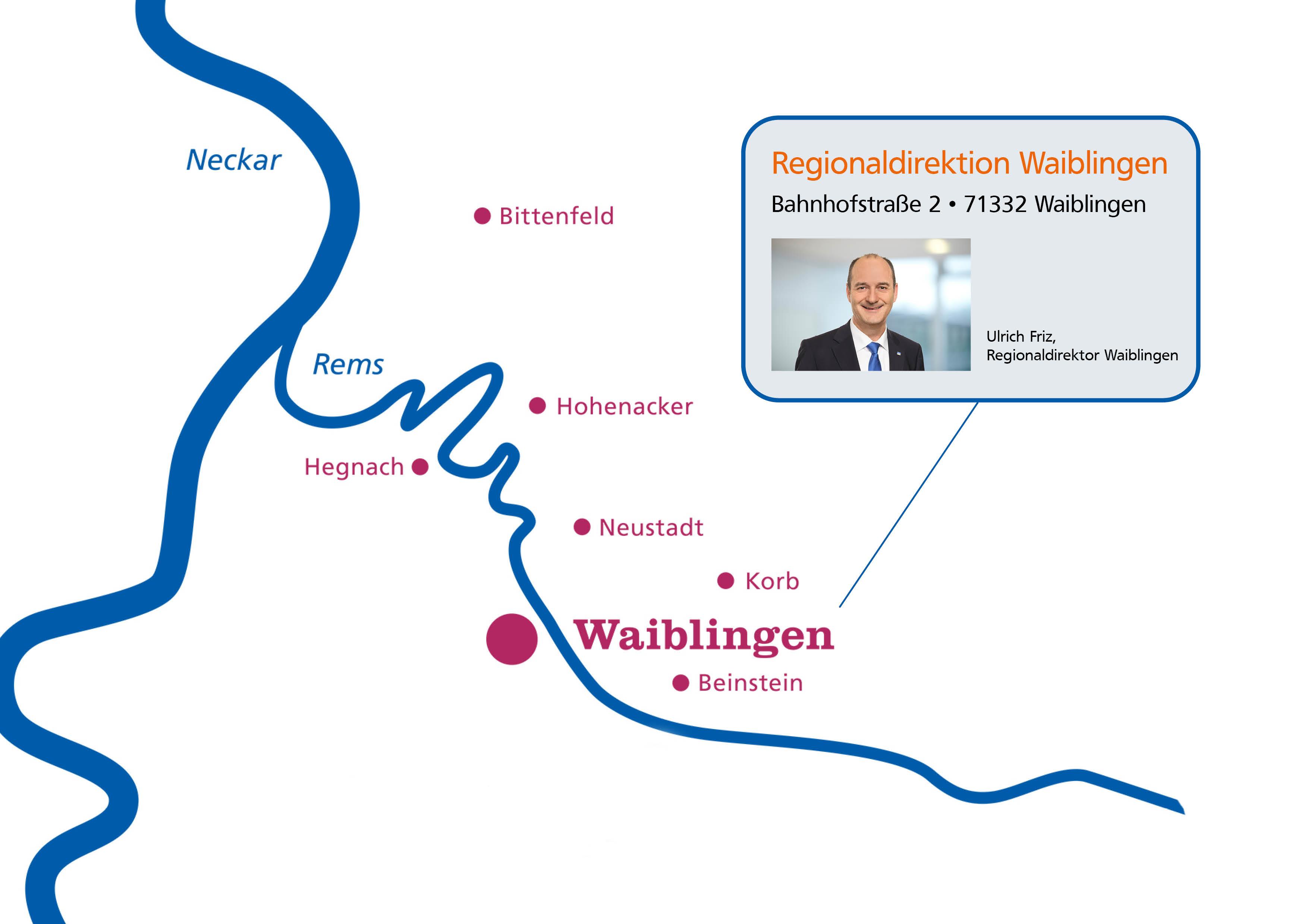 Regionaldirektion Waiblingen